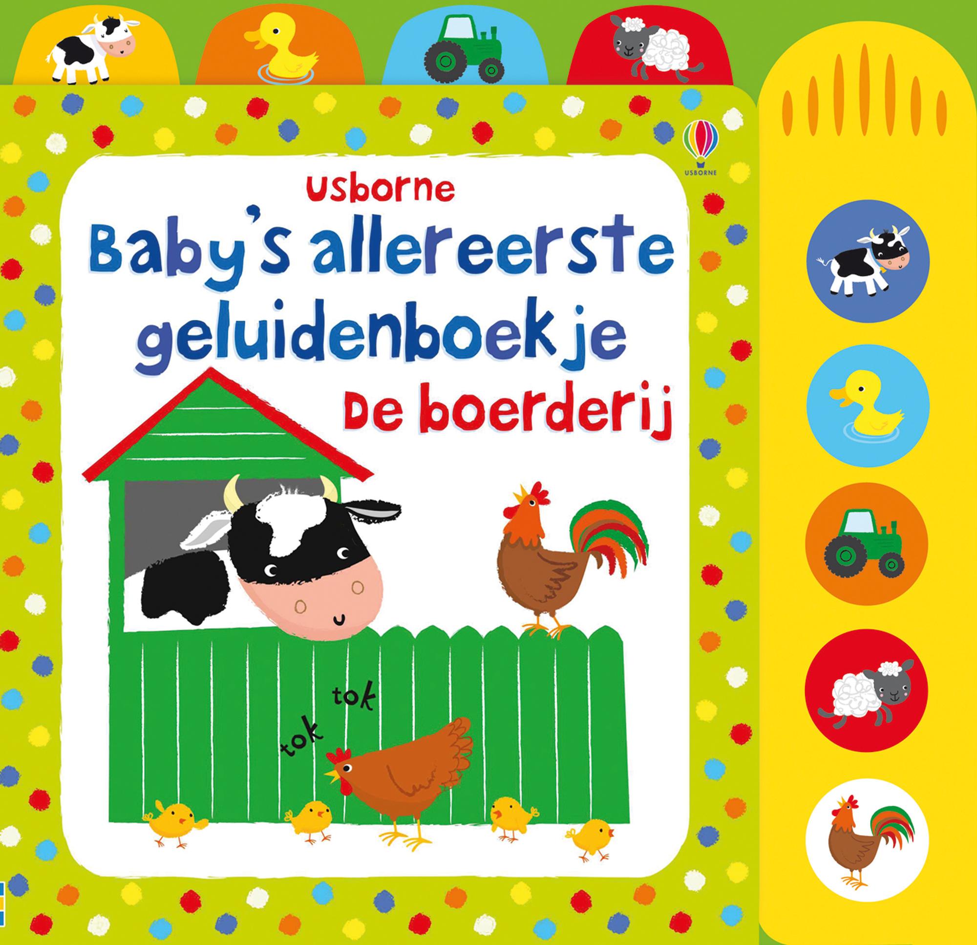 Baby's allereerste geluidenboekjes – De boerderij