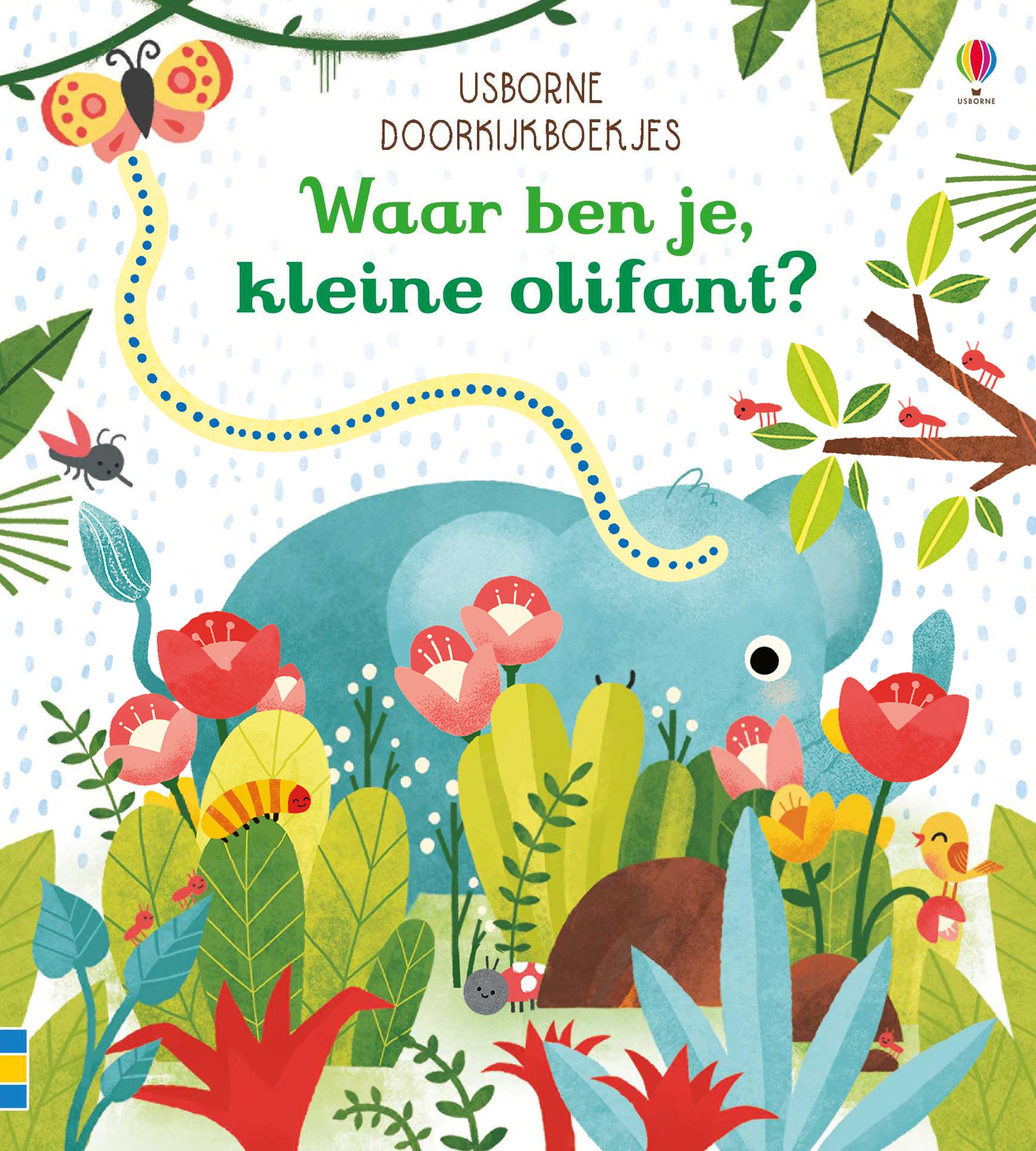 Doorkijkboekjes – Waar ben je, kleine olifant ?