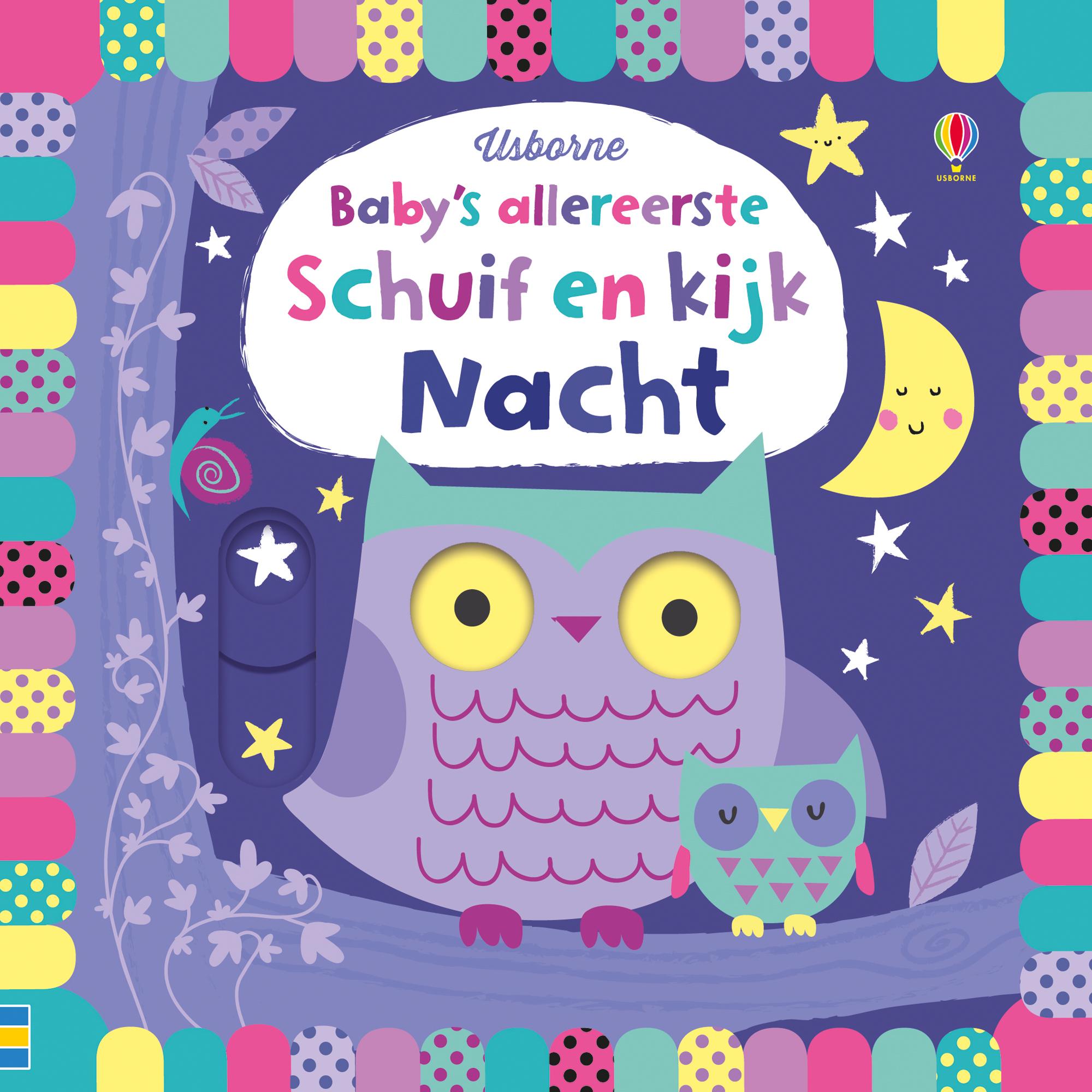 Baby's allereerste schuif en kijk – Nacht