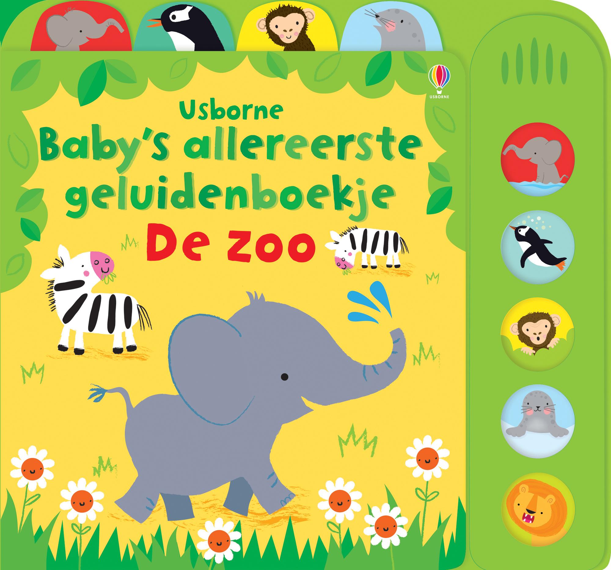 Baby's allereerste geluidenboekjes – De zoo