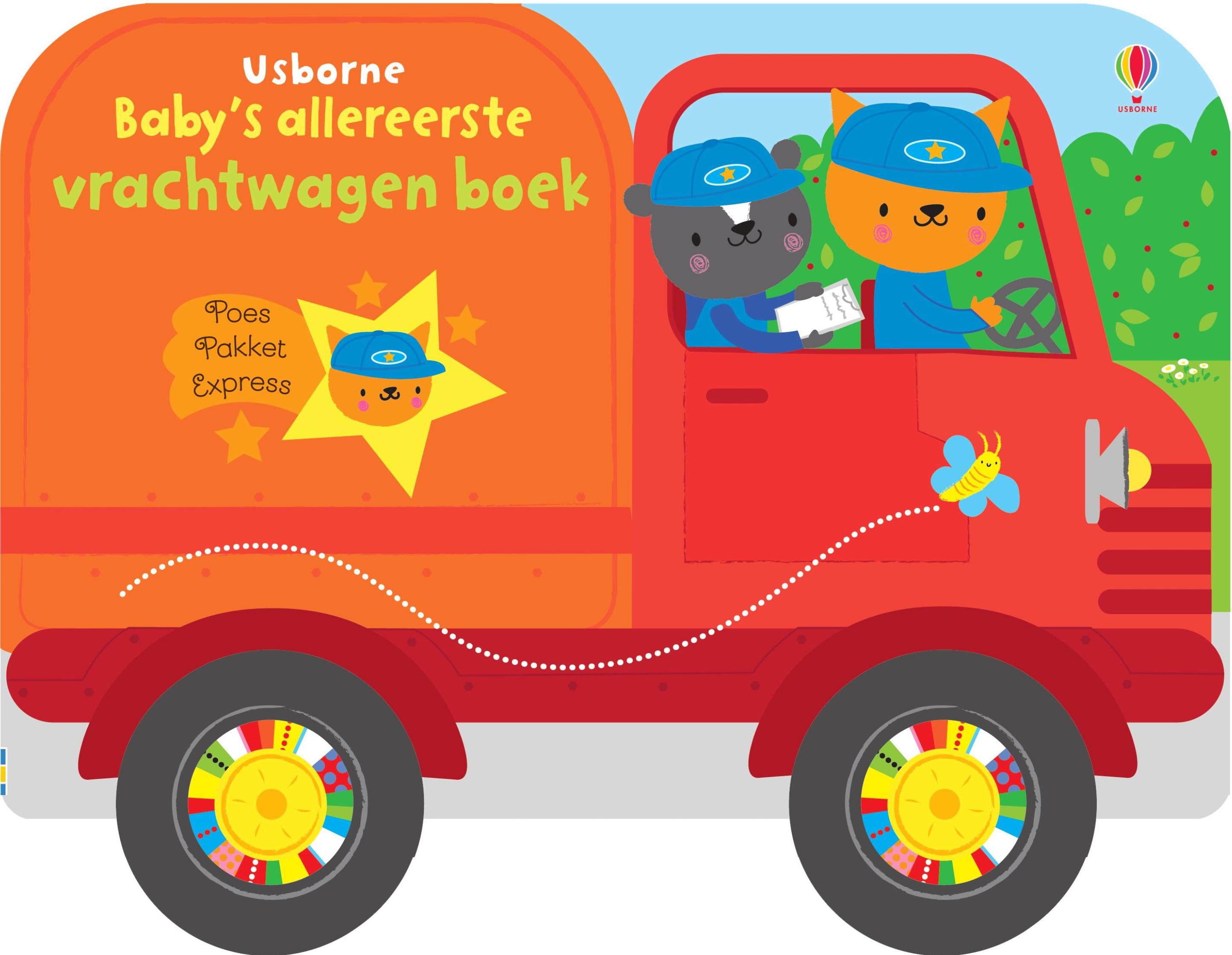 Baby's allereerste vrachtwagenboek