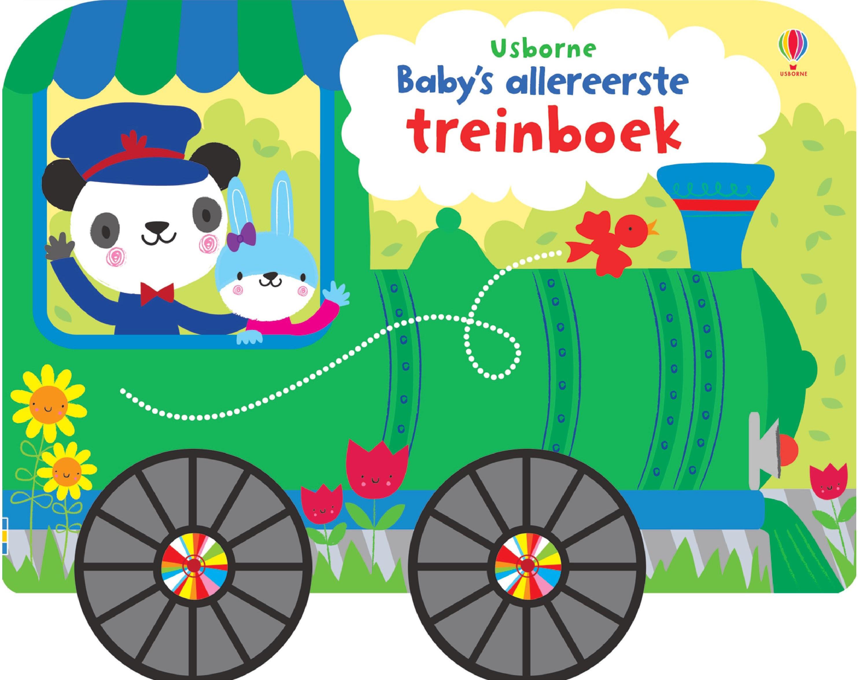 Baby's allereerste treinboek