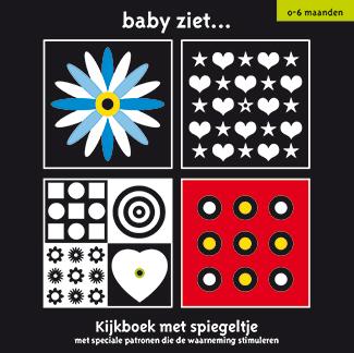 Baby ziet … Kijkboek met spiegeltje