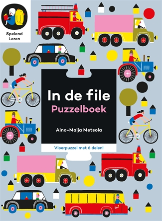 In de file puzzelboek