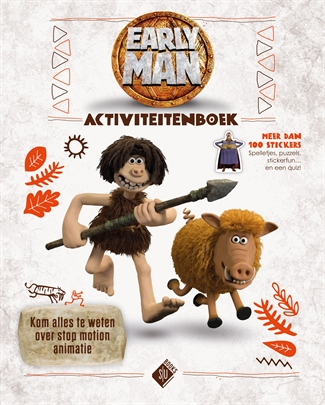 Early Man – Activiteitenboek