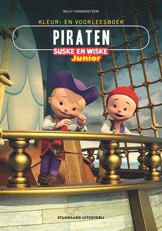 Kleur-/voorleesboek Piraten