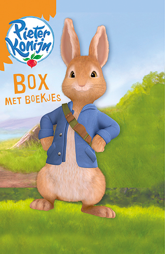 Pieter Konijn box met boekjes