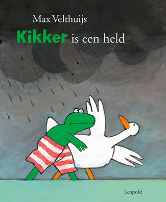 Kikker is een held