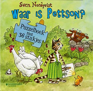 Waar is Pettson? Puzzelboek