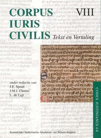 Corpus Iuris Civilis VIII; Codex Justinianus 4 – 8