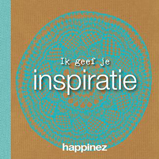 Happinez: Ik geef je Inspiratie