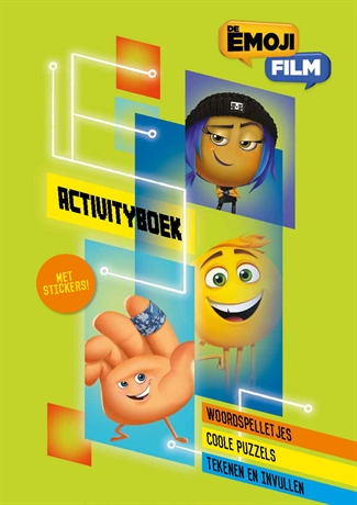 Emoijactivityboek met stickers
