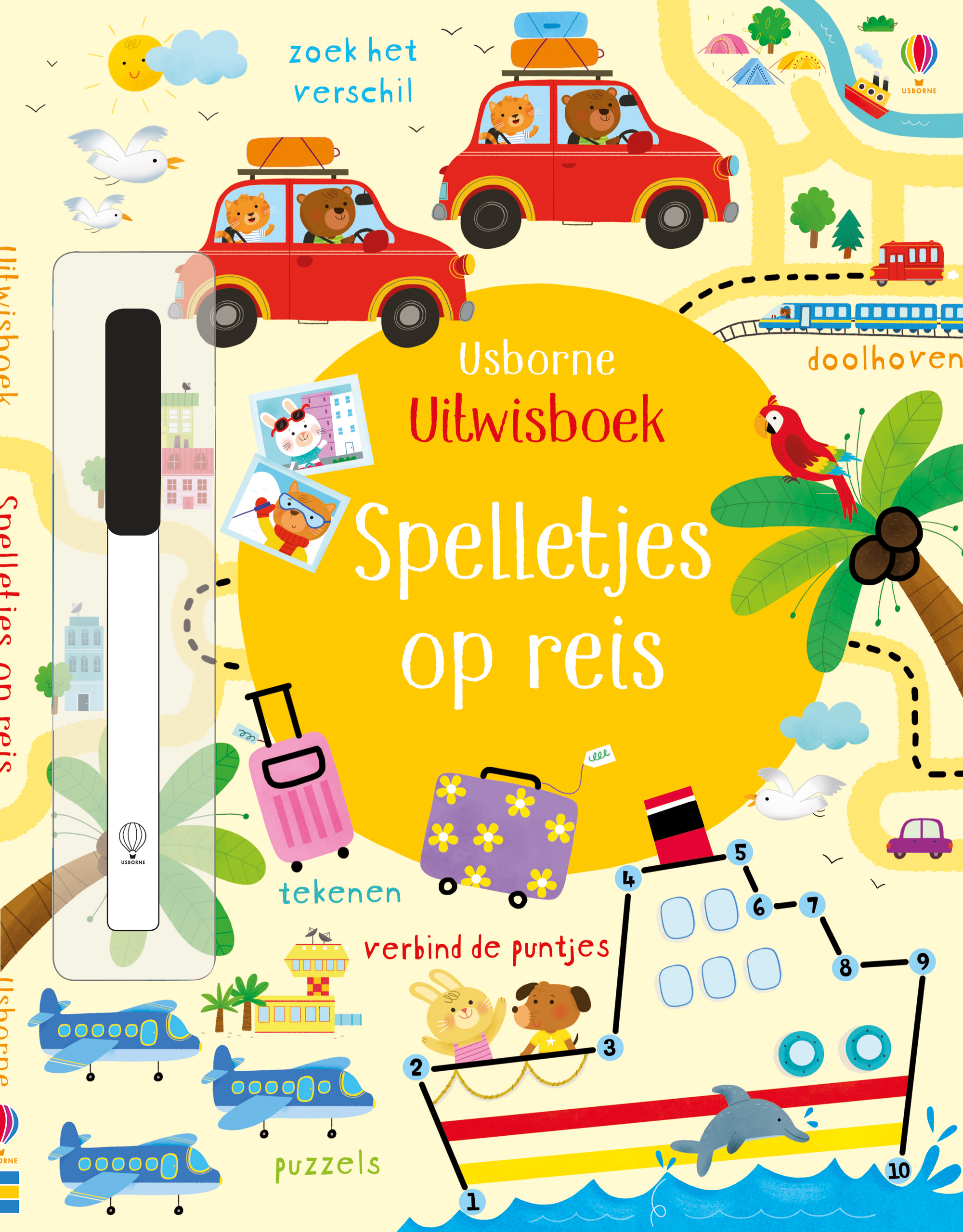 Spelletjes op reis – Uitwisboek