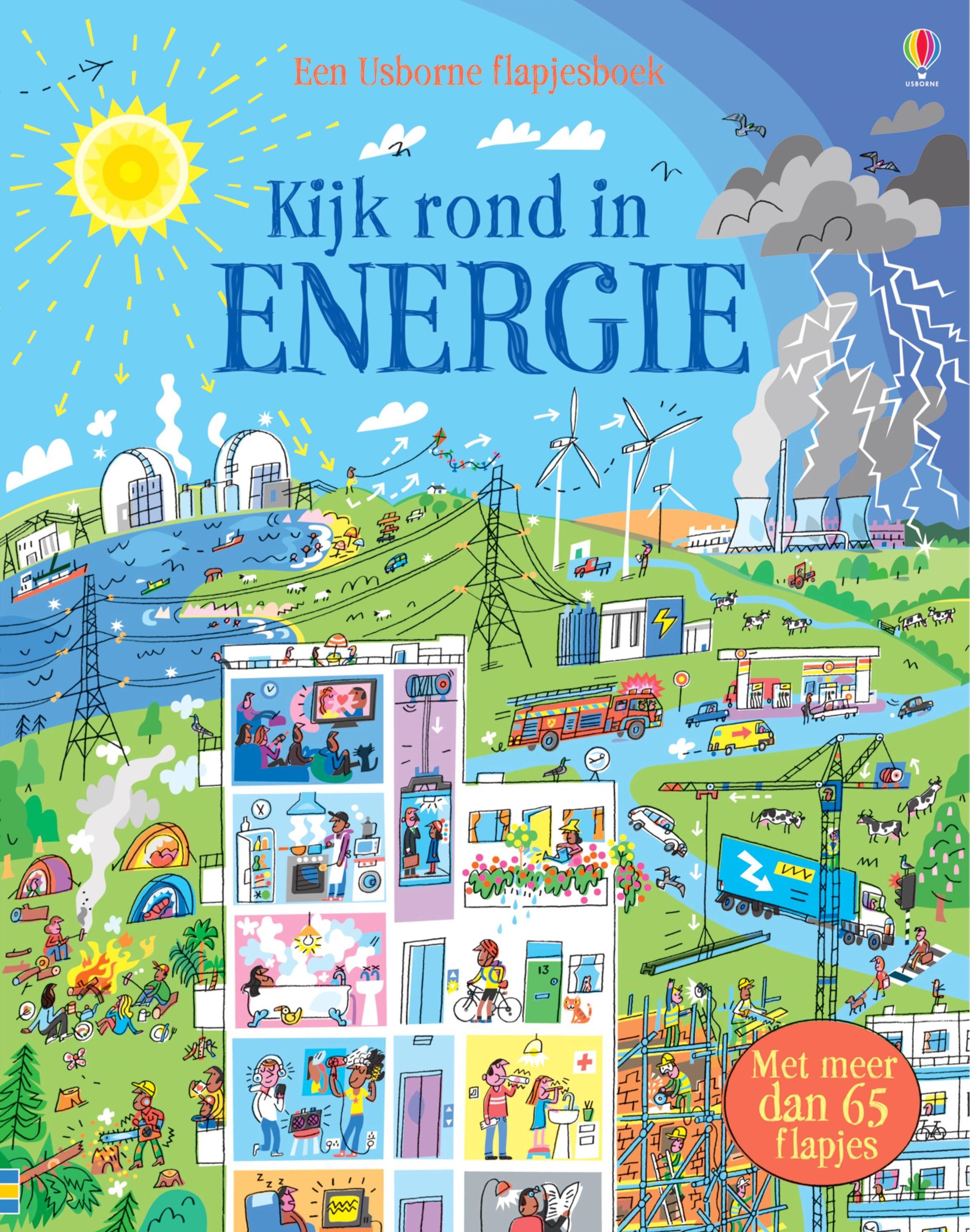 Kijk rond in energie – Flapjesboek