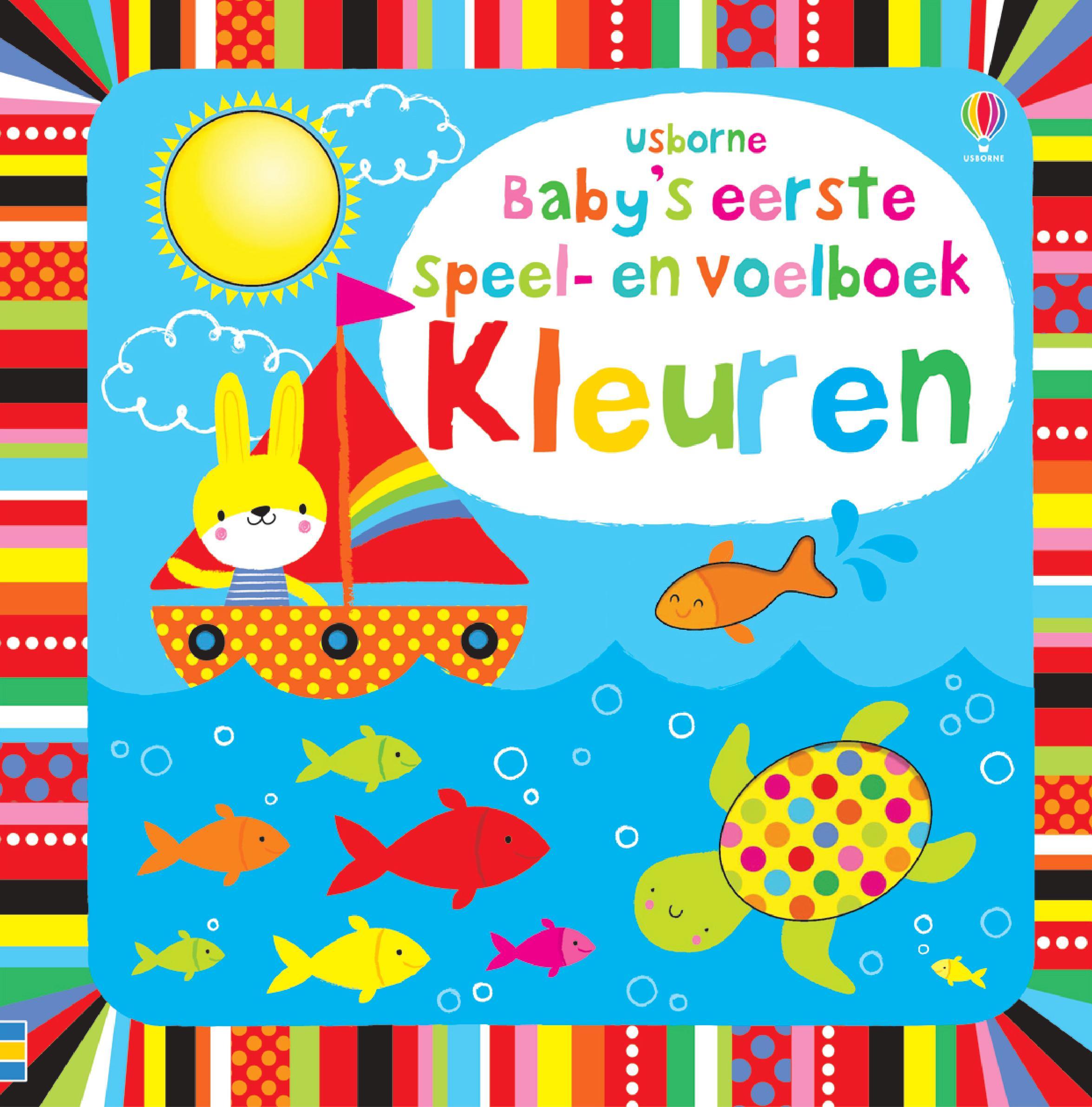 Baby's allereerste speel- en voelboek – Kleuren