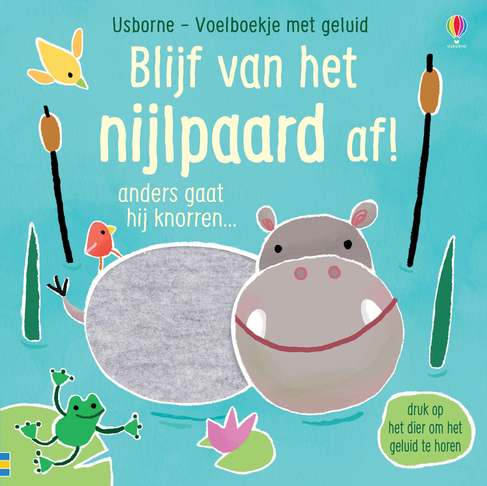 Blijf van het nijlpaard af!