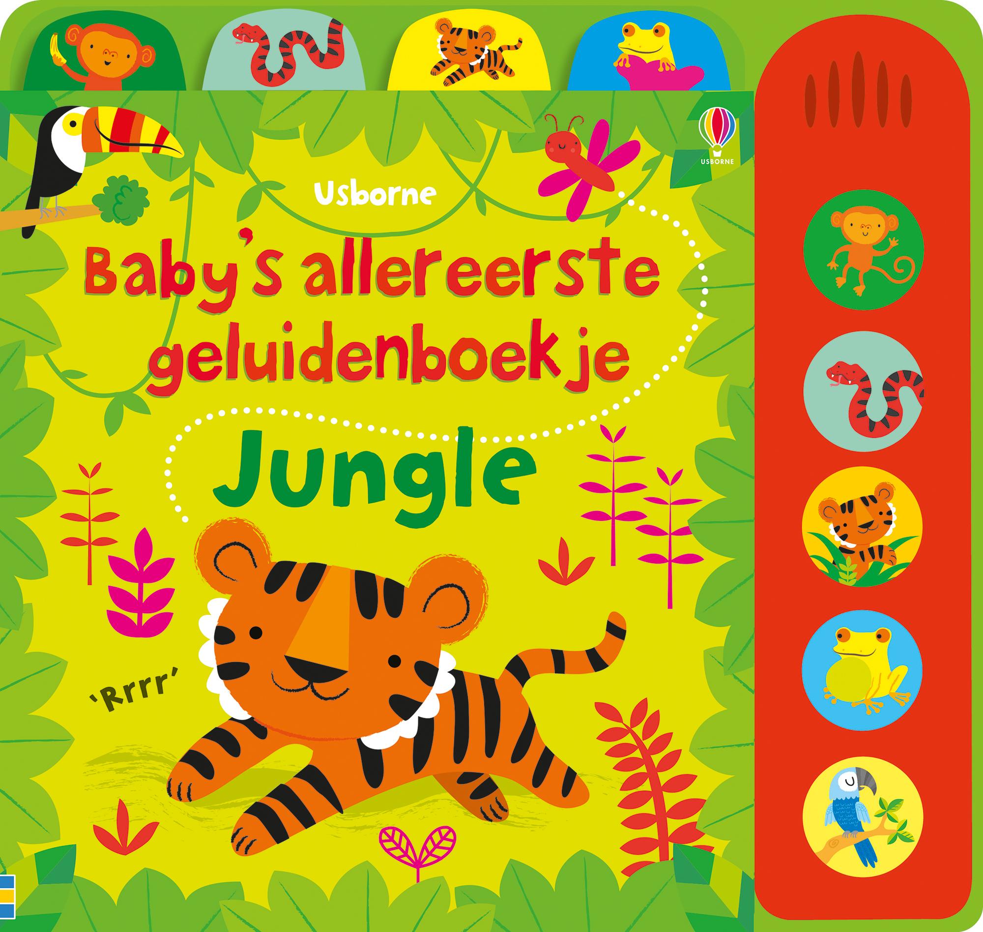 Baby's allereerste geluidenboekje Jungle