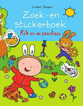 Stickerboek Rik en de Paashaas