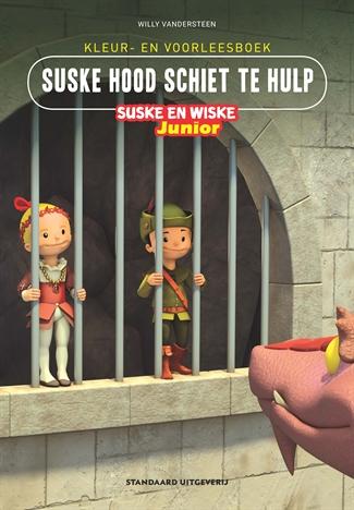 Kleur-/voorleesboek Suske Hood schiet te hulp