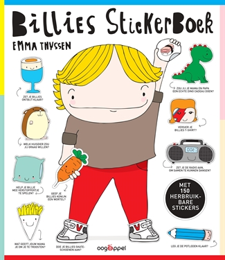 Billie's stickerboek