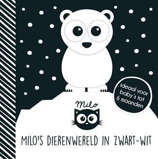 Milo's dierenwereld in zwartwit
