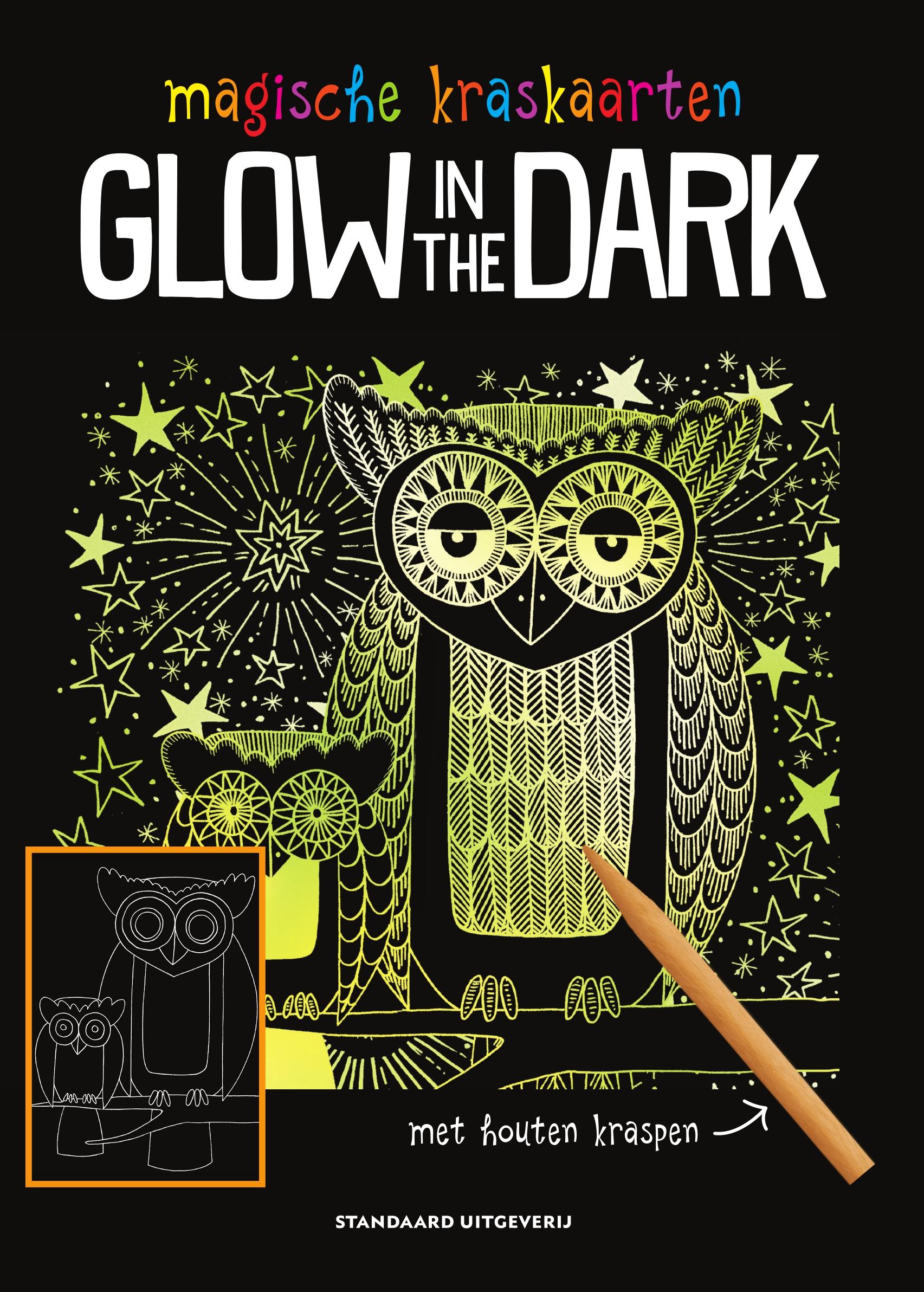 Kraskaarten Glow in the dark