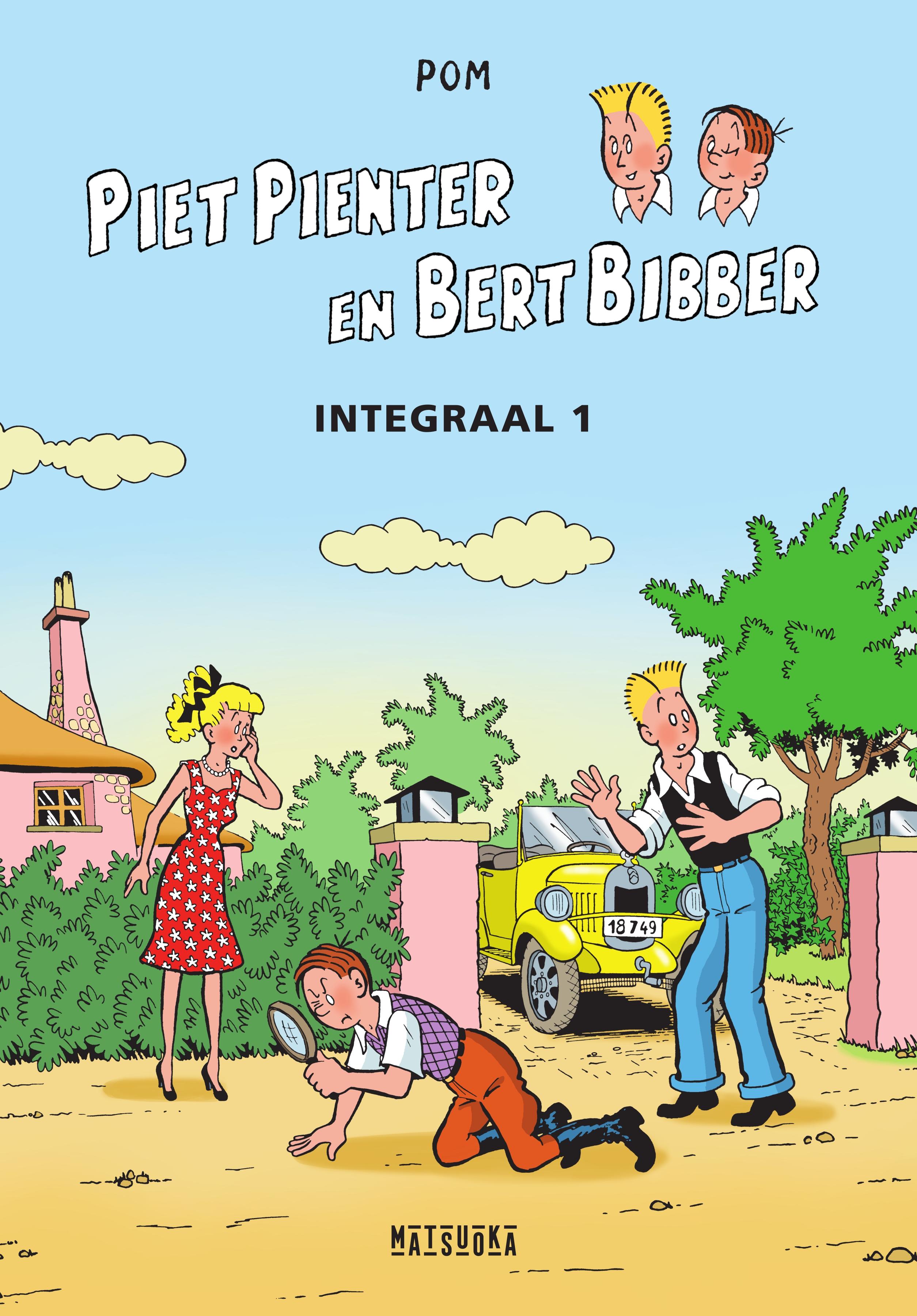 01 Piet Pienter en Bert Bibber Integrale 1