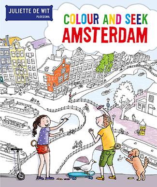 Colour and seek Amsterdam