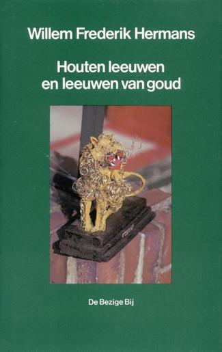 Houten leeuwen en leeuwen van goud