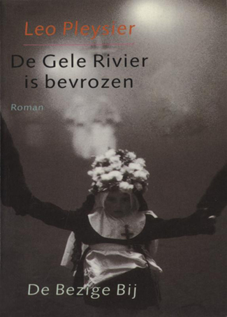 De gele rivier is bevrozen