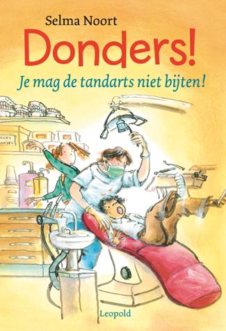 Donders! Je mag de tandarts niet bijten!