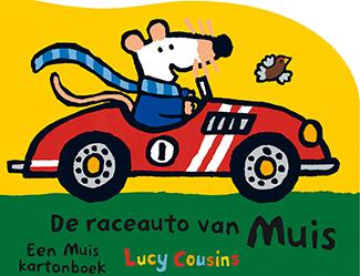 De raceauto van Muis