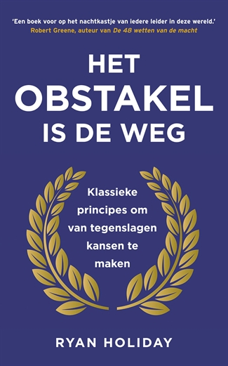 Het obstakel is de weg