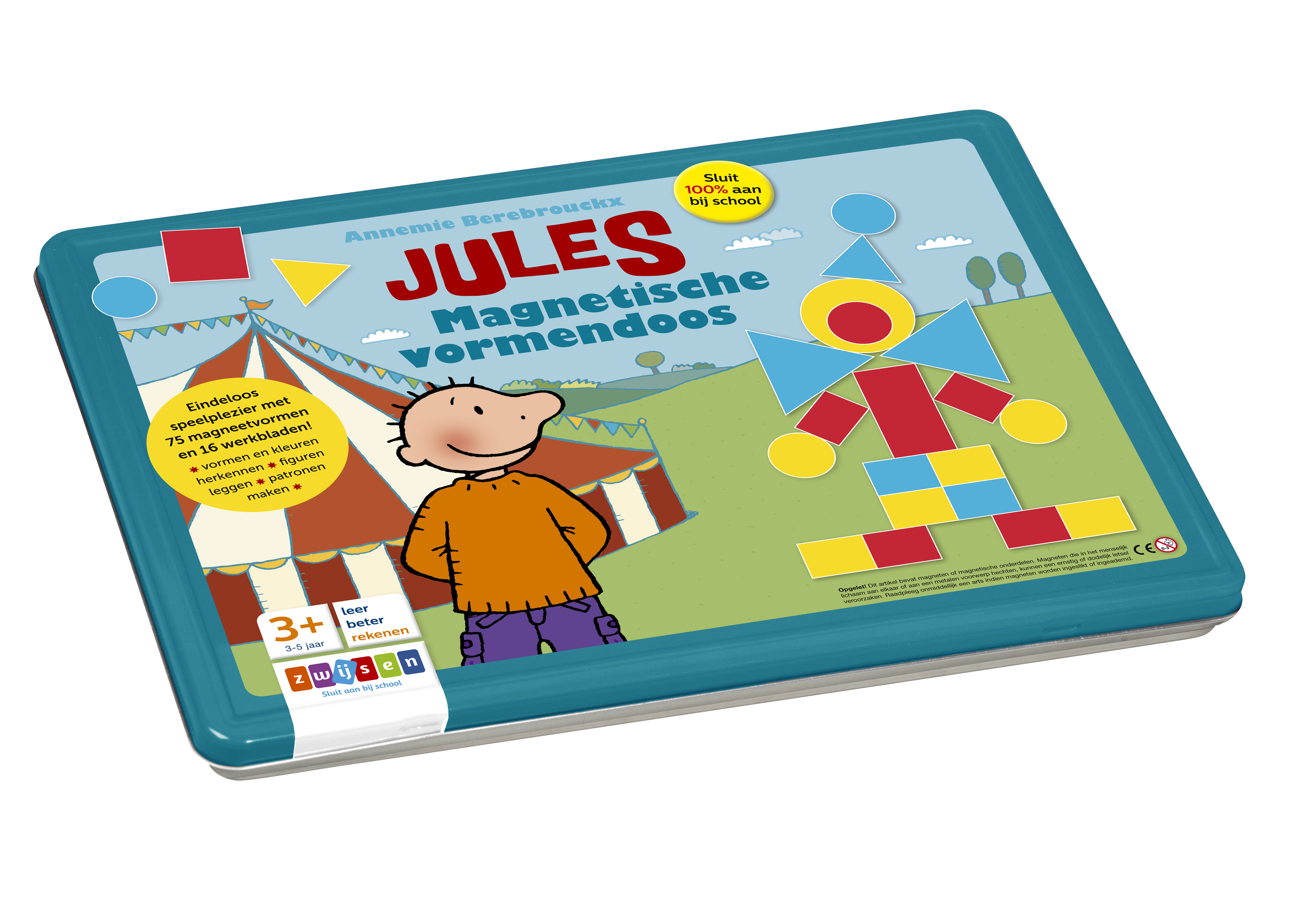 Jules magnetische vormendoos Didactische thuismarkt