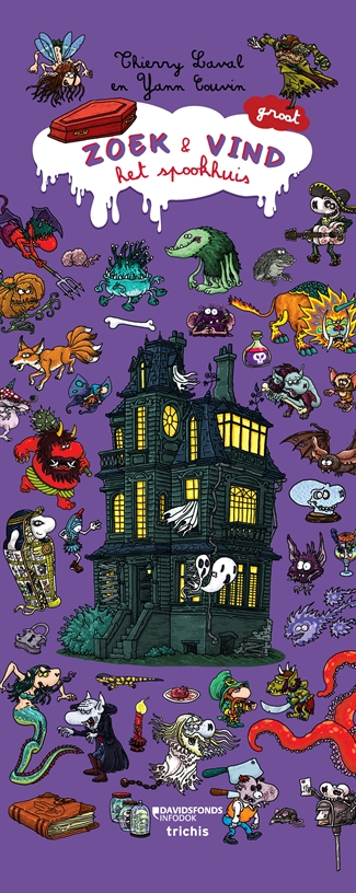 Zoek en vind – Het spookhuis